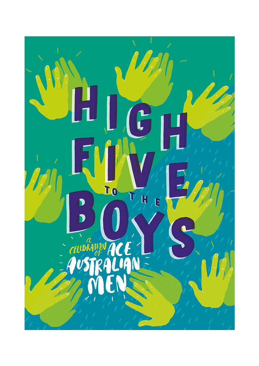 High Five to the Boys.